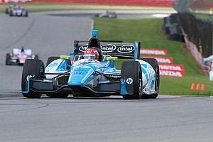 IndyCar Qualifying report Good qualifying effort by SPM drivers at Mid-Ohio