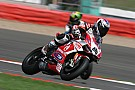 Two eighth place finishes for Badovini and Ducati Alstare in today's races at Silverstone