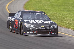 NASCAR Sprint Cup Preview Test session has Busch encouraged for final road race of season at The Glen