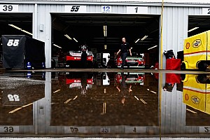 NASCAR Sprint Cup Practice report Adverse weather delayed opening day of on-track action at The Glen