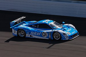Grand-Am Practice report Memo Rojas turns fastest lap in opening practice at Kansas Speedway