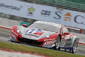 Super GT Race report Weider Modulo HSV-010 scores an awesome victory at Suzuka