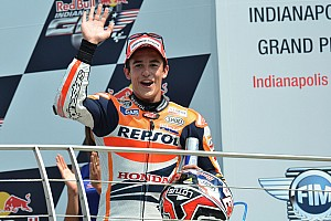 Marquez caps perfect weekend with victory at Indianapolis