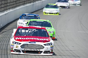 NASCAR Sprint Cup Race report Bayne finish 21st on big day for Ford at Michigan