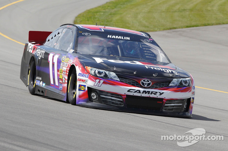 Denny Hamlin: Back in the limelight with pole run at Bristol