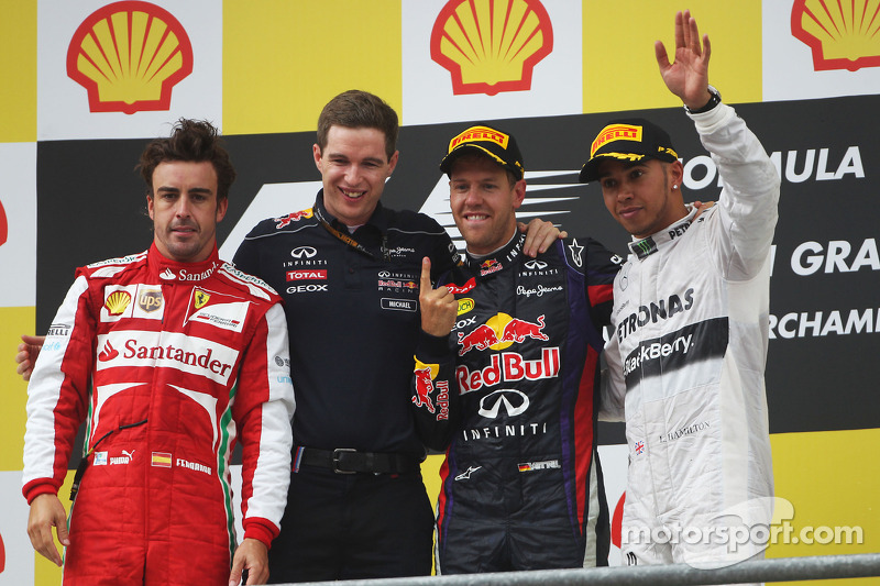 Pirelli: Vettel dominates Belgian GP prix with a two-stop strategy