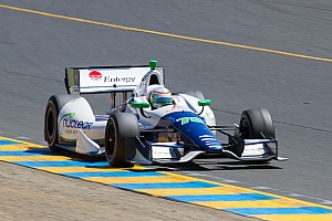 IndyCar Race report KV Racing Technology's De Silvestro comes from back of field to finish ninth at Sonoma