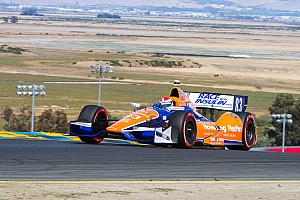 On-Track incidents relegate Kimball to 20th at Sonoma