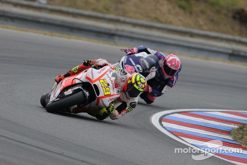 Sixth row for Andrea Iannone and the Pramac Racing Team