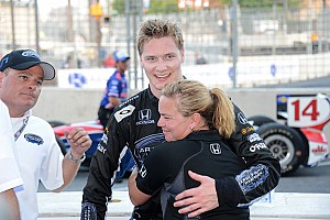 IndyCar Race report Newgarden fights for podium, finishes 2nd in Baltimore