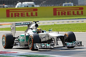 An unexpected qualifying result for Mercedes at Monza
