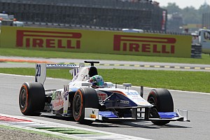 GP2 Race report Campana debuted and Berthon retired early on Race 1 at Monza
