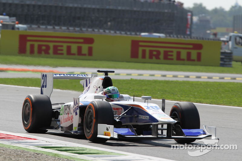 Campana debuted and Berthon retired early on Race 1 at Monza