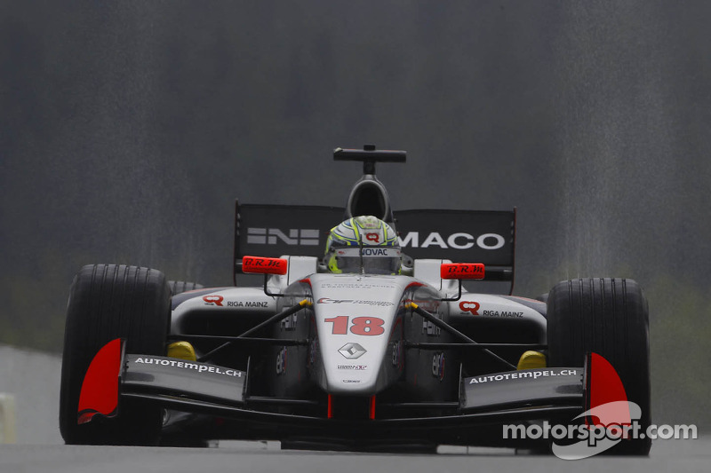 Muller defies the rain in the weekend's first race at the Hungaroring