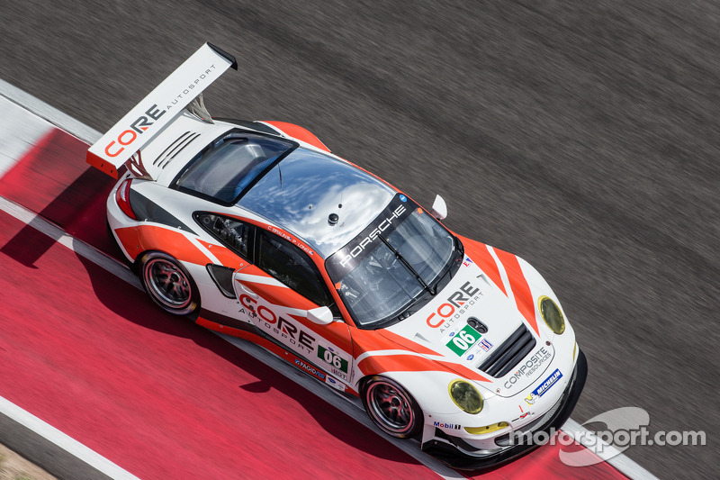 Third-place PC finish for CORE at COTA follows major GT Porsche announcement