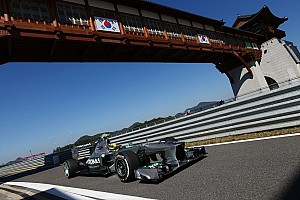 Hamilton stays ahead in Korea