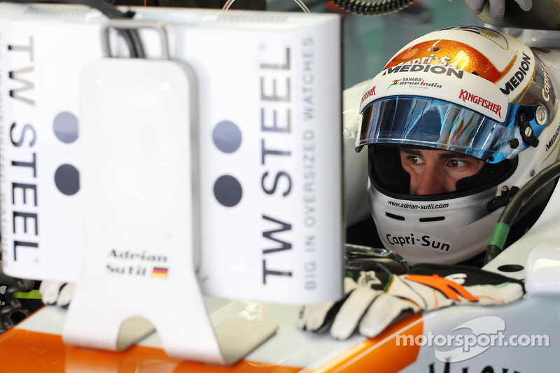 7th and 8th row start for Sutil and Di Resta tomorrow in Korean GP