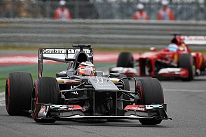 Heavy Hulkenberg still on the scales at McLaren