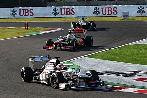 Formula 1 Race report Both Sauber drivers earn points today at Suzuka