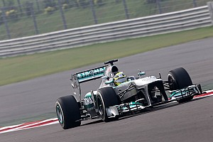 Formula 1 Practice report Mercedes AMG Petronas in top 10 of Friday's practice at India
