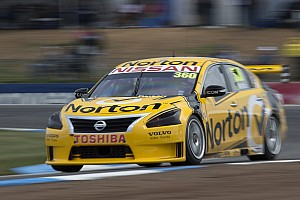 V8 Supercars Race report Close, but no great result for Nissan at Surfers Paradise