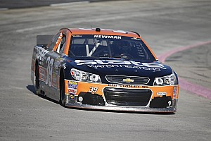 NASCAR Sprint Cup Race report Newman gets clocked at Martinsville