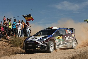WRC Race report Neuville recovers 4th in Fiesta-dominated top-10 in Spain