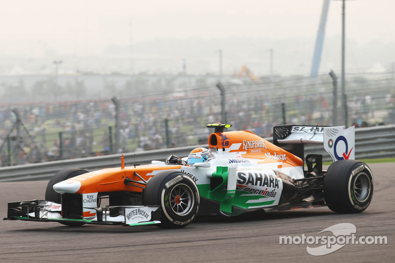 Sahara Force India gets ready for Abu Dhabi GP
