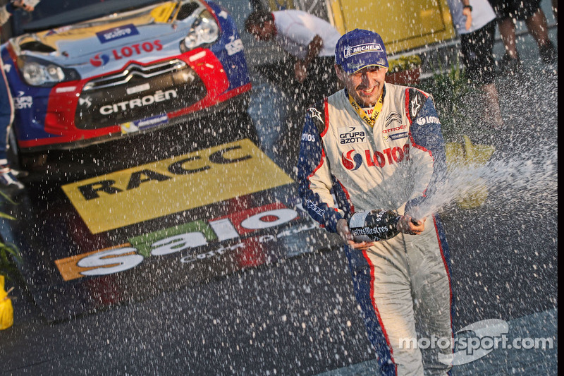 Kubica wrap up the WRC2 title with a podium finish at Rally de España