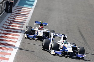 GP2 Race report Berthon ending up in 13th and Raimondo finishing in 15th place at Abu Dhabi