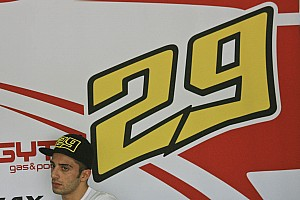 Andrea Iannone ready for the the last race of the year in Spain