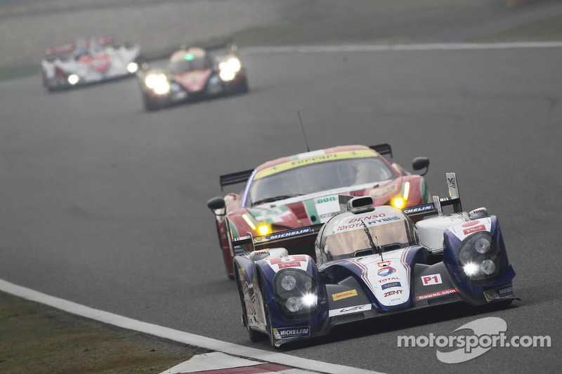 180 Minutes: Puncture forces Toyota lead change in Shanghai