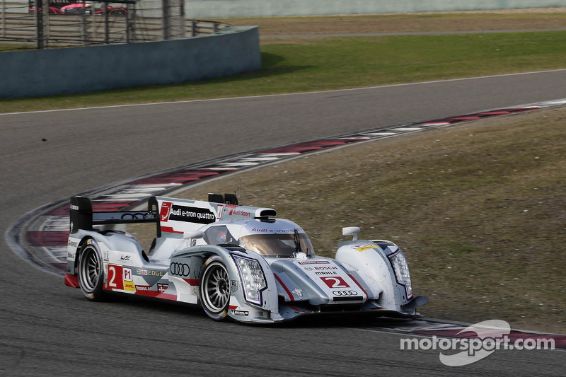 6th WEC victory of the season for Audi and Drivers' World Championship title at Shanghai