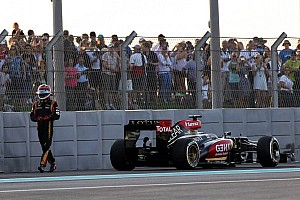 Raikkonen out for 2013