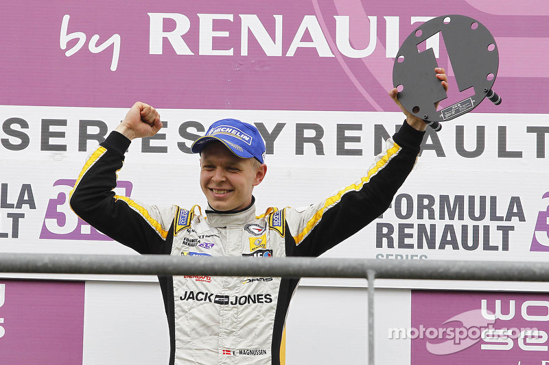 Formula Renault 3.5 Series champion Kevin Magnussen to join Formula One in 2014