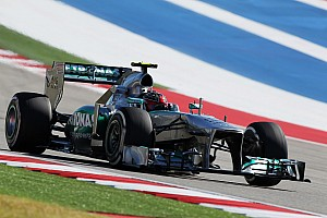 A tough qualifying session for Mercedes at the Circuit of the Americas