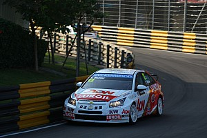 WTCC Race report Muller takes win in frenetic season finale at Macau