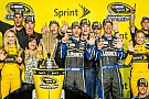 Jimmie Johnson basks in the championship spotlight