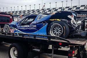 Flying prototypes: Westbrook and Barbosa OK after separate scary crashes