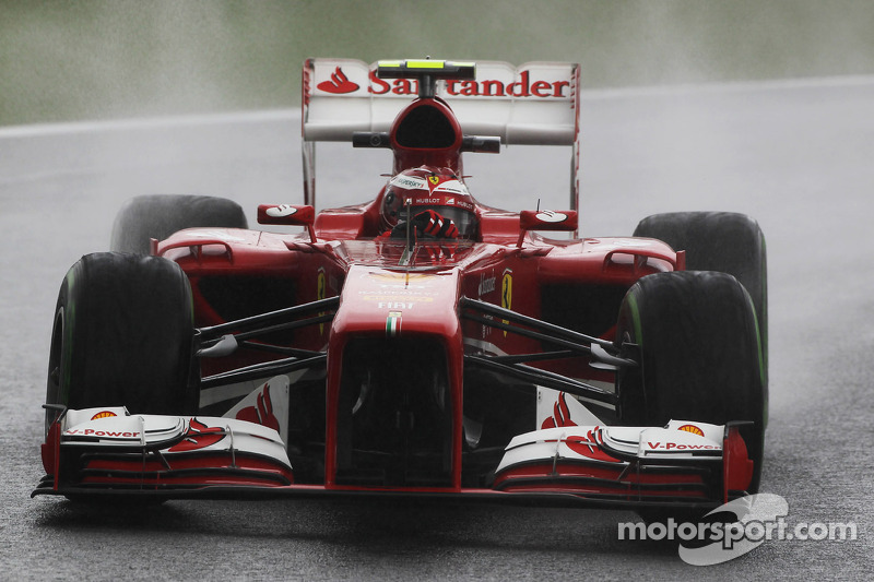 Ferrari is top ten on qualifying for the Brazilian GP