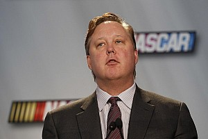 NASCAR Sprint Cup Press conference Brian France on 2013 season: 'We had a good year'