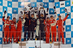 Endurance Race report Gulf 12 Hours win crowns a dream season for Team Abu Dhabi by Black Falcon