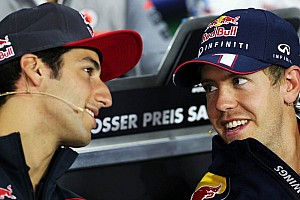 Ricciardo thinks Vettel yet to peak