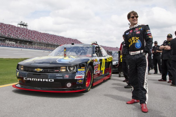 Good news for Landon Cassill