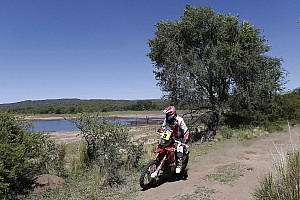 Dakar Stage report Barreda defends overall lead at stage two