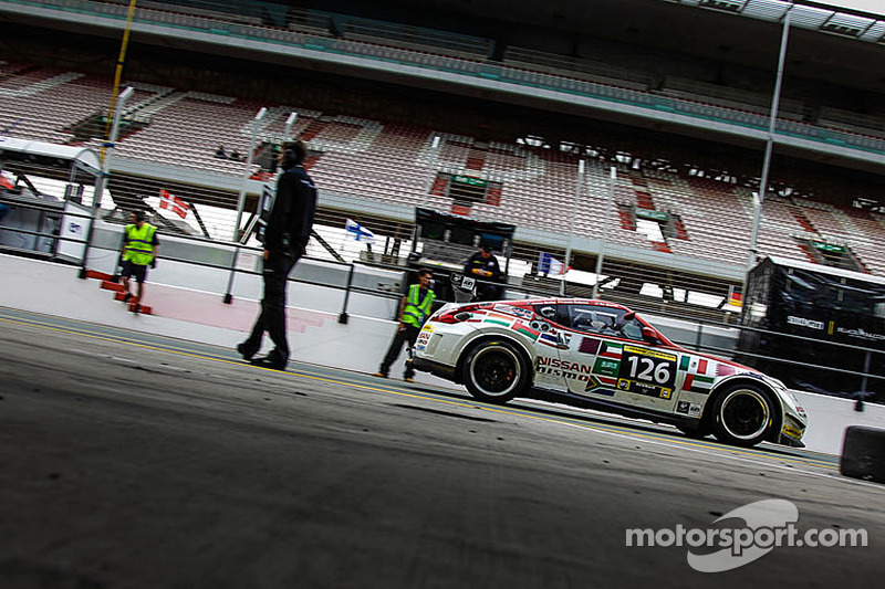 Podium finish for Chandhok in the Dubai 24Hrs