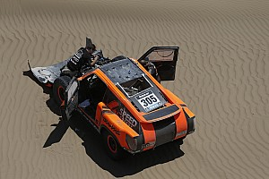 Mechanical issues sideline Robby Gordon at Dakar Rally