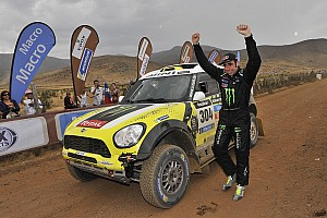 Dakar Race report Joan