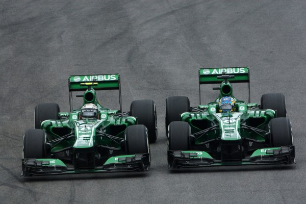 Caterham set for Kobayashi-Ericsson in 2014 - report