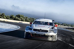WTCC Breaking news Testing continues for the Citroën C-Elysée WTCC